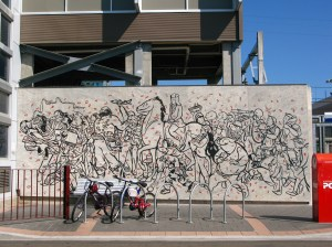 Mural at Cabramatta Train Station