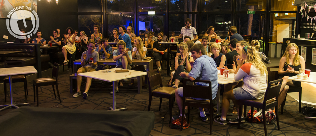 Crowd at the Godfrey Tanner Bar for FEAST's 20Twenty event. Photography by Matt Hudson