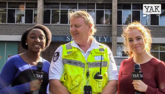 Yak TV talked to university security about how to stay safe on campus