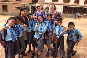 Yak Magazine Managing Editor Emily Steele's volunteering in Nepal