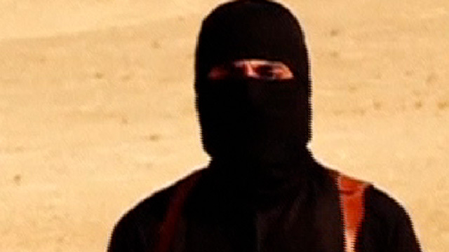 Screen grab from Isis video