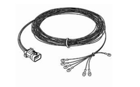 Onan RV Remote Wire Harness 25' W/ 5 wire Quiet Gas