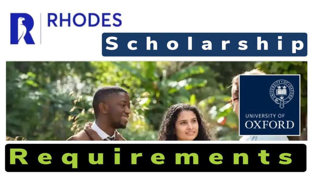 Rhodes Scholarship requirements