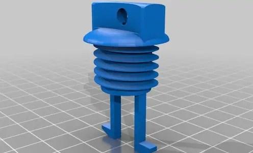 Generic 3D printed drain plug