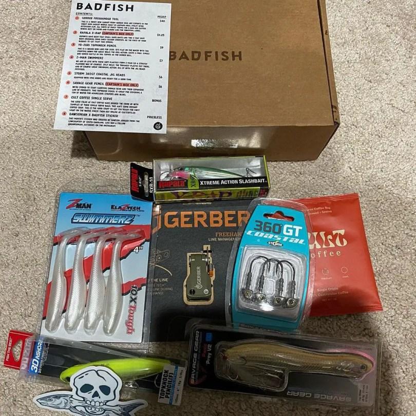 Badfish monthly fishing box