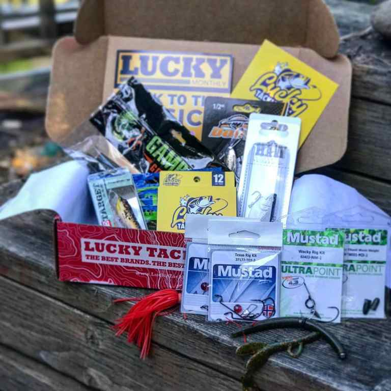 Lucky Tackle monthly fishing box