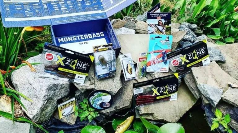 MonsterBass monthly fishing box