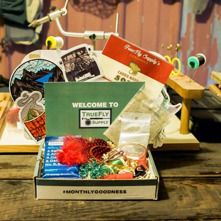 Truefly Supply Drop monthly fishing box