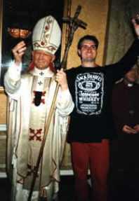 Mit Papst Paul