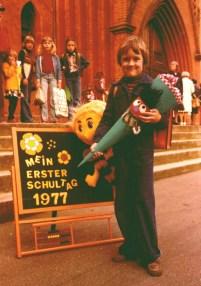 Einschulung 1977
