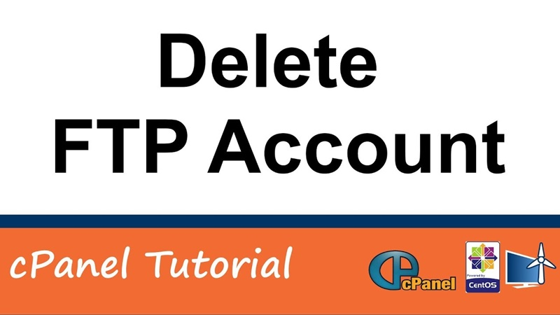 How to Delete an FTP User account from cPanel?