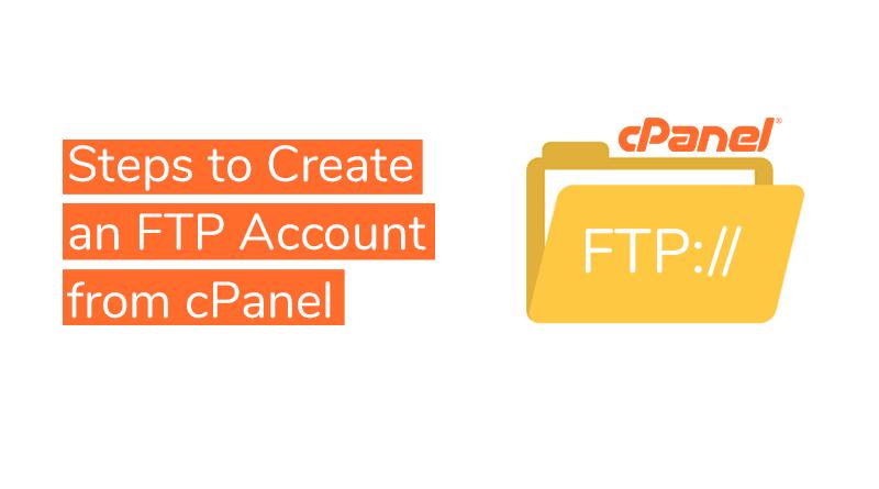 create FTP account