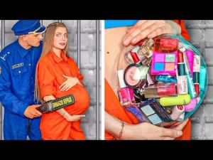 Weird Ways to Sneak Makeup in Jail! Funny Situations & DIY Ideas by Mr Degree