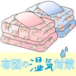 布団の湿気対策。フローリング床に布団を敷いた際のカビ、湿気取り