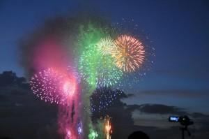 江戸川区花火大会の穴場と場所取りについてお伝えします。