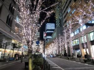 クリスマスのイルミネーションで東京のおすすめと穴場スポットです。