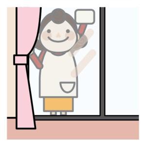 窓掃除を簡単に!ワイパーの使い方。新聞の利用方法。道具のおすすめ