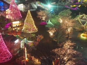よみうりランドのイルミネーション期間と料金。クリスマスの混雑状況についてです。