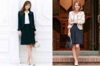 小学校の卒業式で母親の服装。スーツ選びとマナーは?着こなしの画像