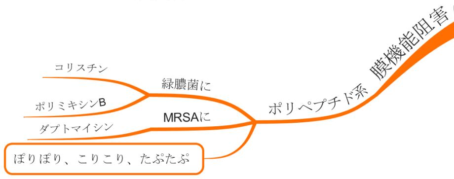 ポリペプチド MRSA 薬