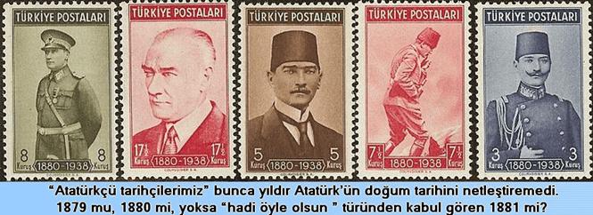 Atatürk'ün doğum tarihi