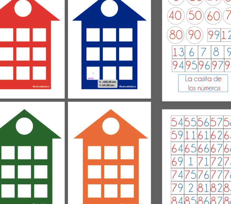 Las casitas de los números