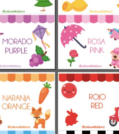 colores de homeschooling