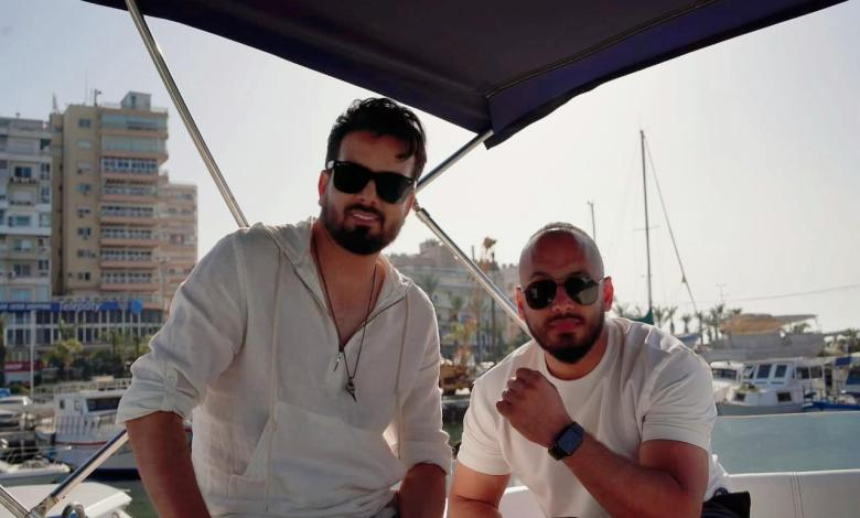 "Photo of بسام مهدي يصور "" أخذني بعيد "" مع المخرج فهد الخالد"