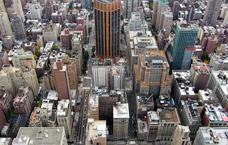 New York City rooftops