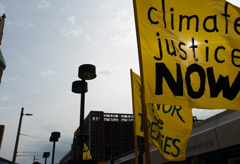 Climate Justice Now photo