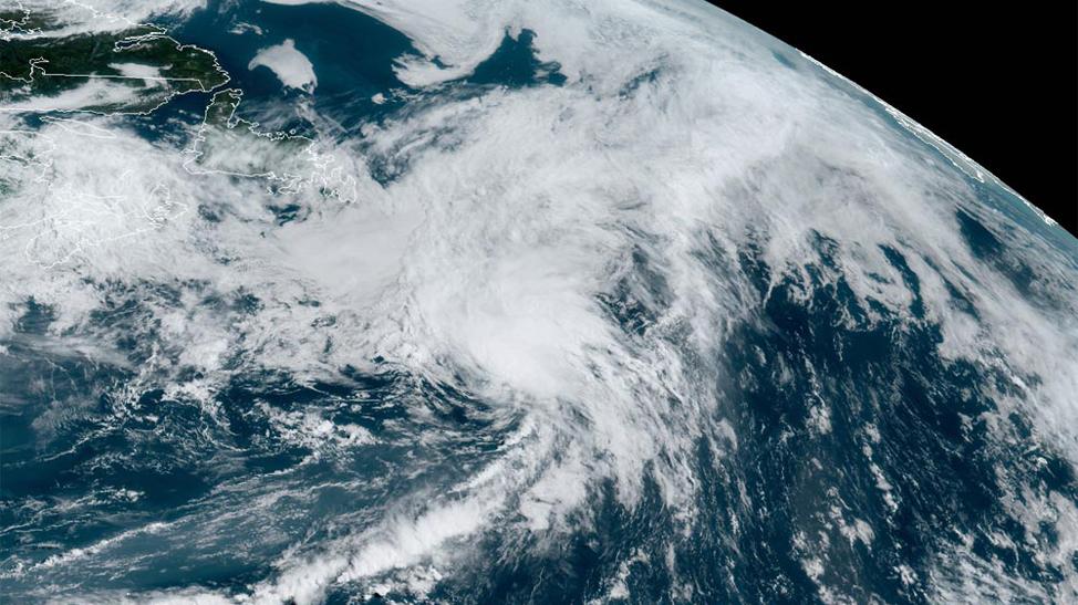 Edouard satellite image