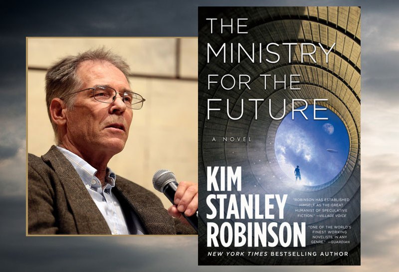 Kim Stanley Robinson and book cover