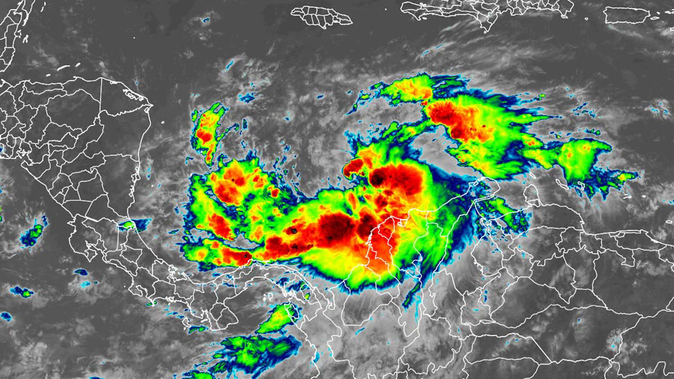 Iota satellite image