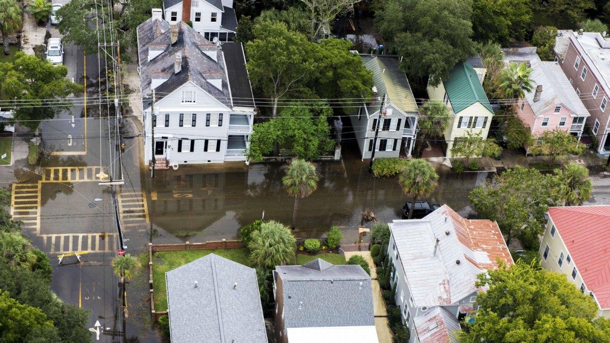 Neighborhood flooding