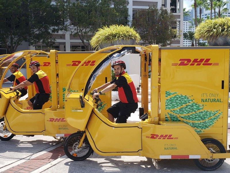 DHL e-cargo cycles