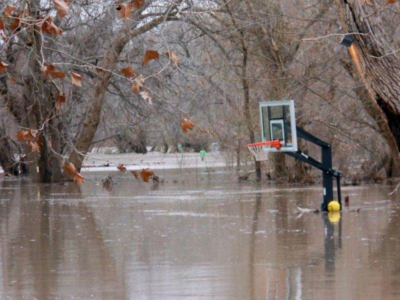 Flooding in Austin