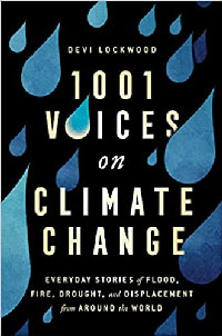 1001 Voices on Climate Change book cover