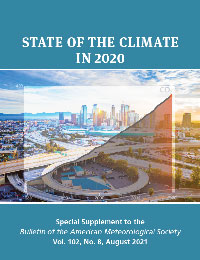 State of the Climate in 2020 report cover