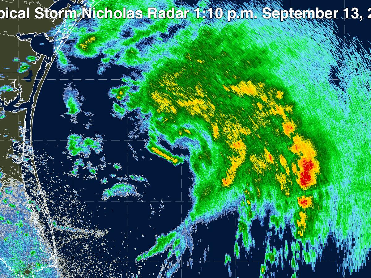 radar image