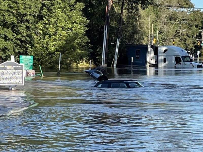 Flood on the Raritan River