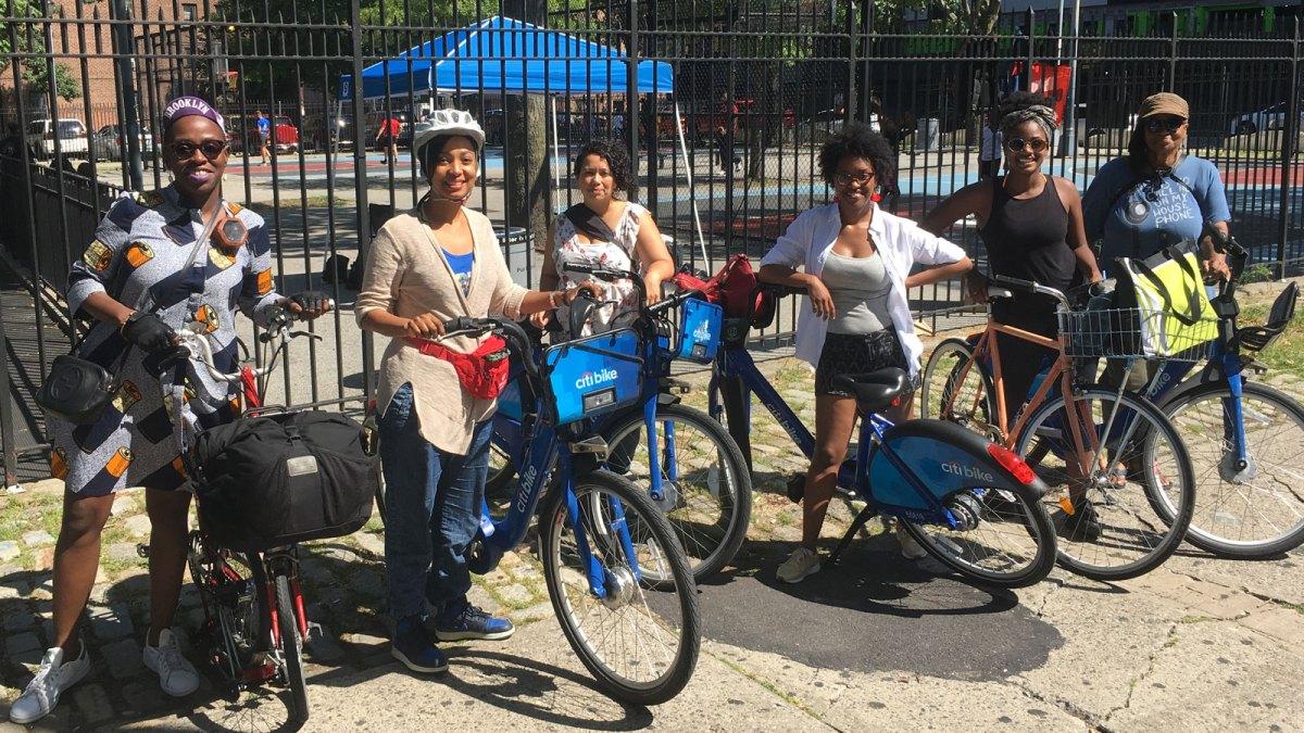Citi Bike riders