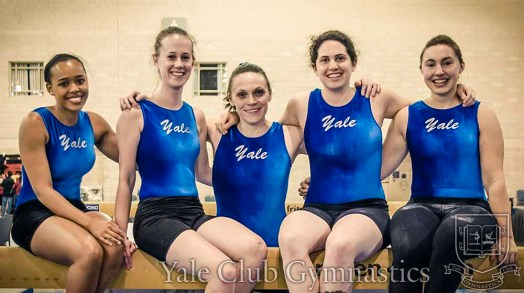 Yale Club Gymnastics Women's Team at NAIGC Nationals 2015