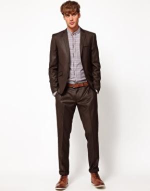 Мужские зауженные брюки