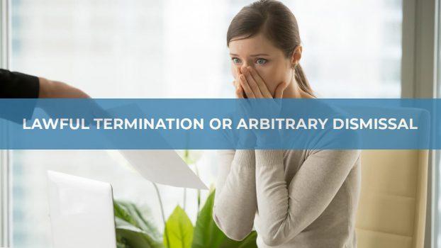 Arbitrary-Dismissal