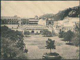 Palace Grounds - Photos from Jaipur, 1880-1920 (Image Source: Columbia University)