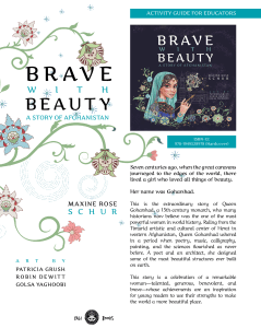 Brave with Beauty-A Story of Afghanistan - Activity Guide for Educators