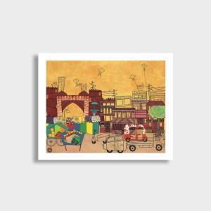 Ahemdabad Art Print