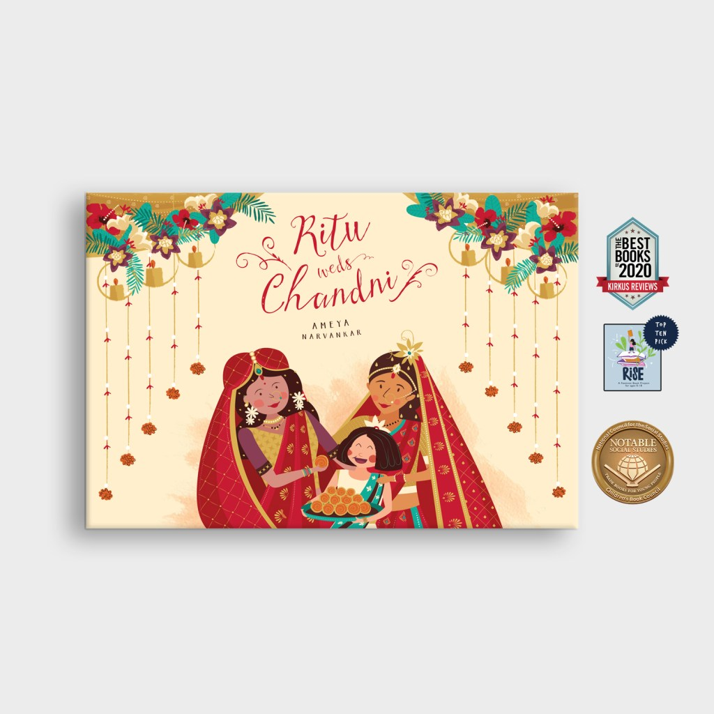 Ritu Weds Chandni Cover with Seals