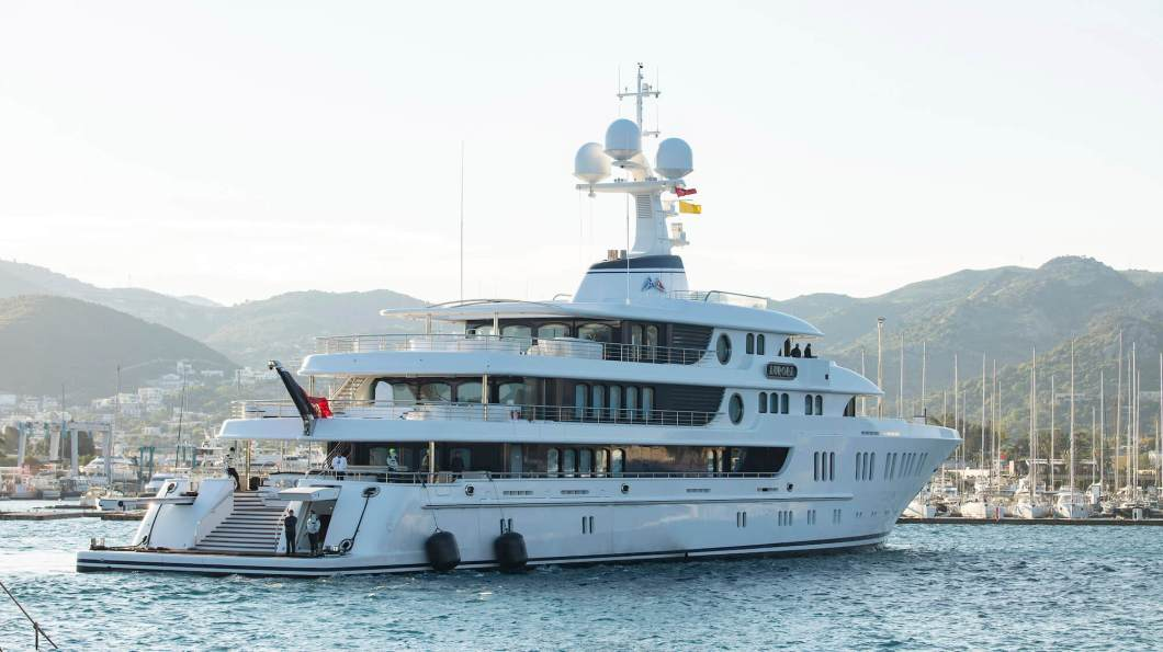 "Yalıkavak Marina Welcomes 74 Meters ""Aurora"" As The First Superyacht Visitor Of The Season"