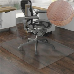 Rolling Chair Mat For Wood Floors Skeleton Sitting In A 36x48 Hard Floor Home Office Pvc Square